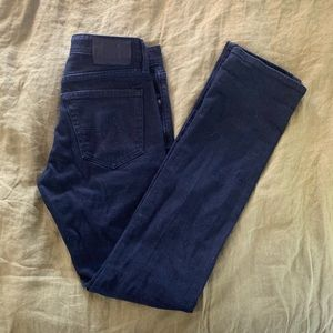 NWOT AG Black Jeans with Slim Tailored leg